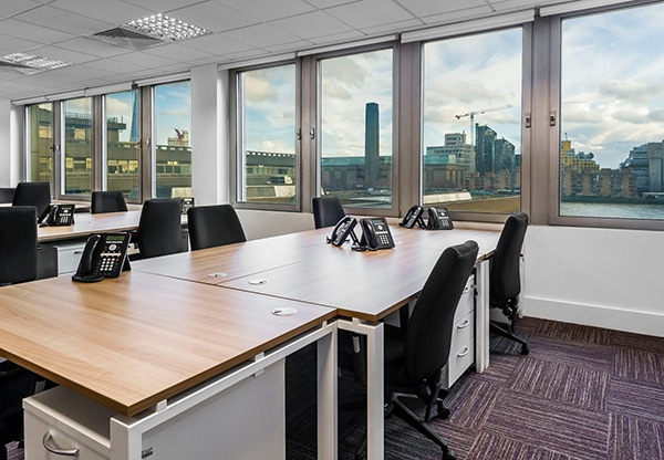 Managed offices in London