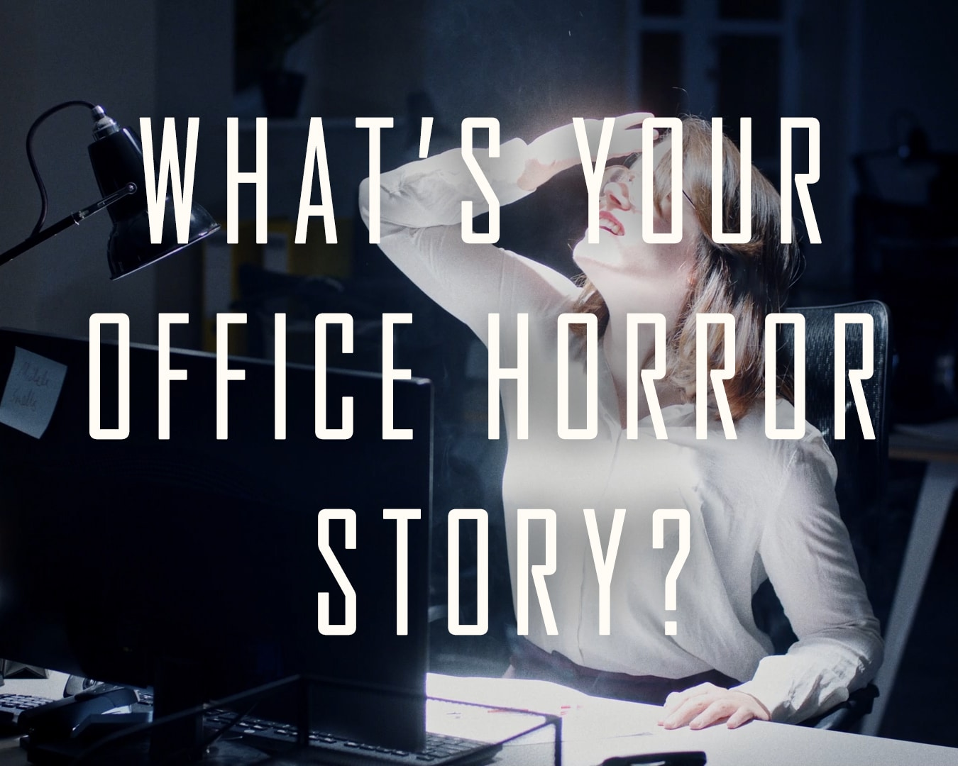 #Halkinween video - Better lit offices make for a happier workforce